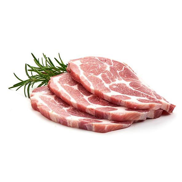 Cabeza de lomo de cerdo