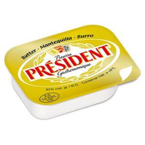 Mantequilla President micro