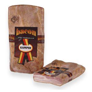 Bacon sese tendrum semicuit