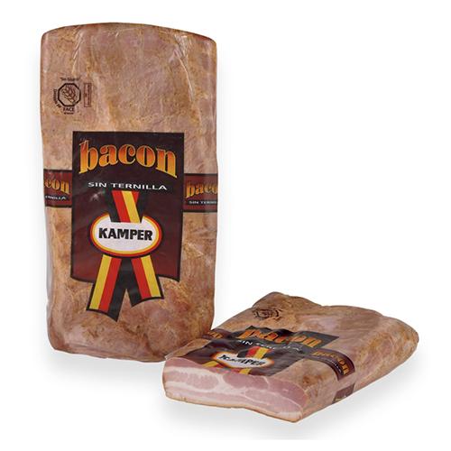 Bacon Sin Ternilla Semicocido