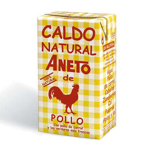 Caldo Natural de Pollo Aneto