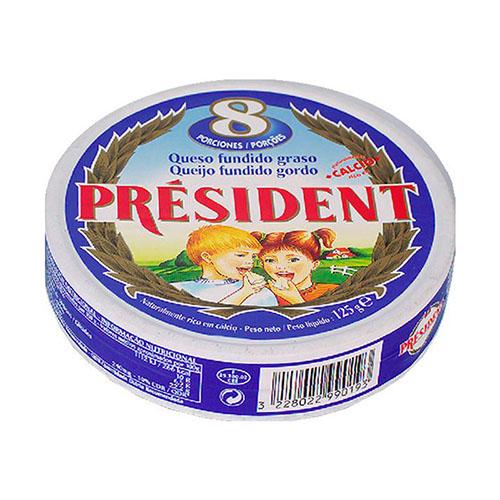 Quesitos Porciones Président