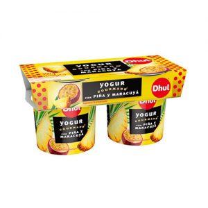 Yogur con Piña y Maracuyá Dhul