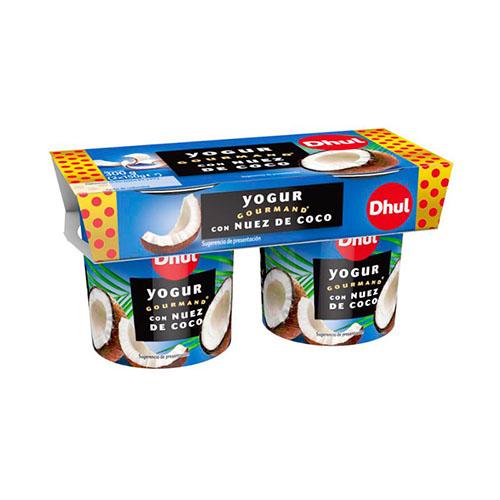 Yogur con Nuez de Coco Dhul